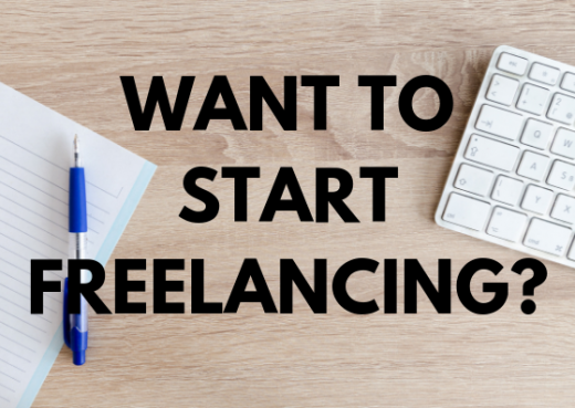 Start freelancing blog post Rebecca Spelman